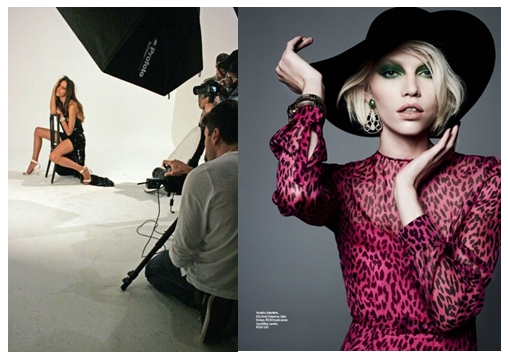 Editorial de moda - Revista Elle -